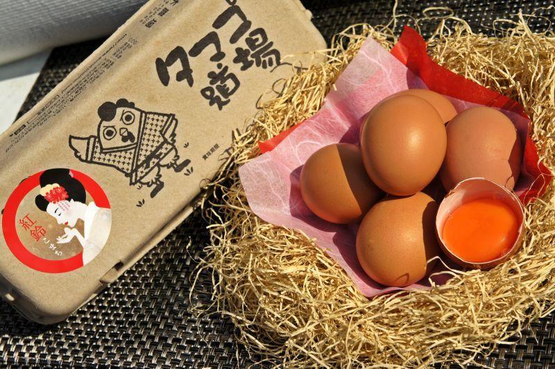 画像1: 紅鈴こまち(赤玉卵)60個入り化粧ケース