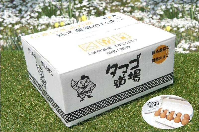 画像2: シンデレラン(赤玉卵)60個入り化粧ケース